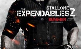 expendables 2 sylvester stallone poster 280x170 Expendables 2 Character Posters: Meet the New Dirty Dozen
