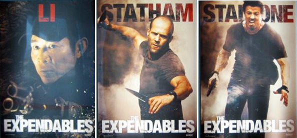 expendables posters3 The Expendables Promo Trailer