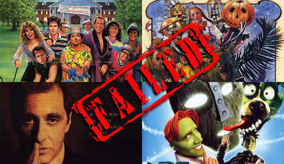 failed movie sequels The Worst Belated Movie Sequels