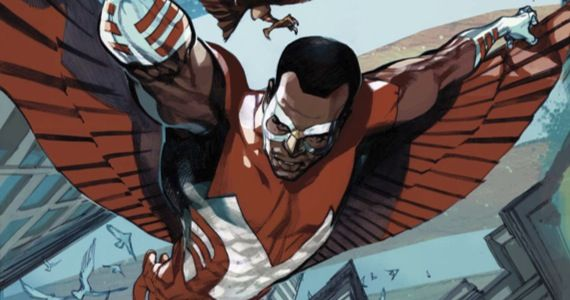 falcon captain america sequel Anthony Mackie Up To Play Falcon in Captain America 2