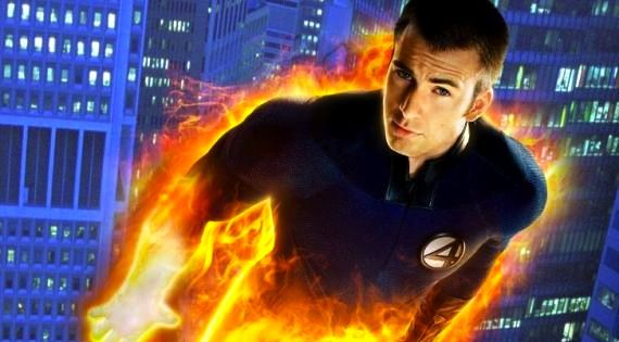 fantastic four chris evans human torch Fantastic Four Reboot May Cast Chronicle Actor Michael B. Jordan as Human Torch
