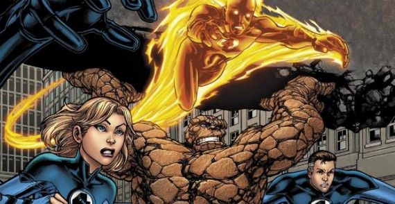 fantastic four movie reboot cast 570x294 Fantastic Four Cast Update: Kate Mara is the Invisible Woman; Jamie Bell to Play The Thing