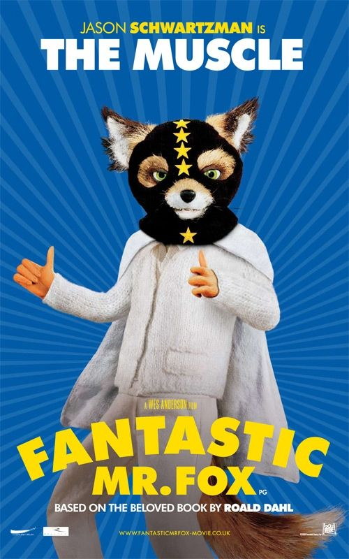 fantastic mr fox the muscle jason schwartzman Poster Friday: Toy Story 3, Saw VI, A Christmas Carol & Many More!