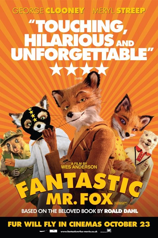 fantastic mr fox wes anderson poster Poster Friday: Moon, Tooth Fairy, Parnassus & More!