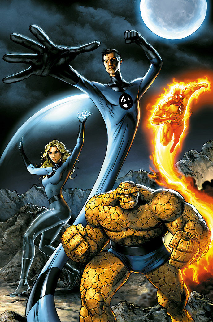 fantastic four by jp rart Fantastic Four Reboot On The Way?