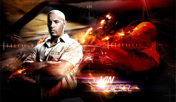 fast five vin diesel Fast Five Images Depict Impossible Heist