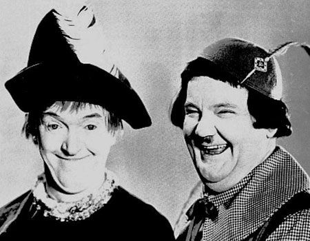 Laurel & Hardy in 'Babes in Toyland'