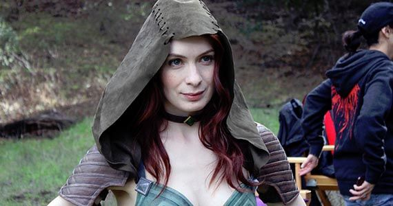 felicia day dragon age redemption Dragon Age: Redemption Web Series Stars Guild Favorite Felicia Day