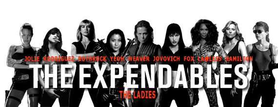 The Expendables All Female Cast Group Picture