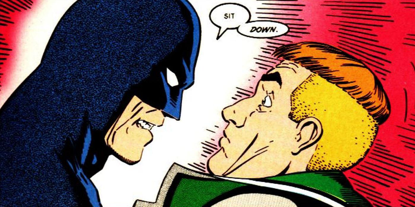 Batman vs. Guy Gardner