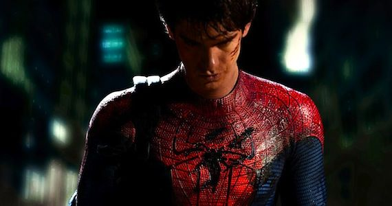 first image of andrew garfield as spider man Amazing Spider Man Co Writer Talks Realistic Tone & 3D Action