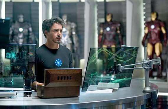 first iron man 2 image Marvel Announces Iron Man 3 Production With Hall of Armor Image