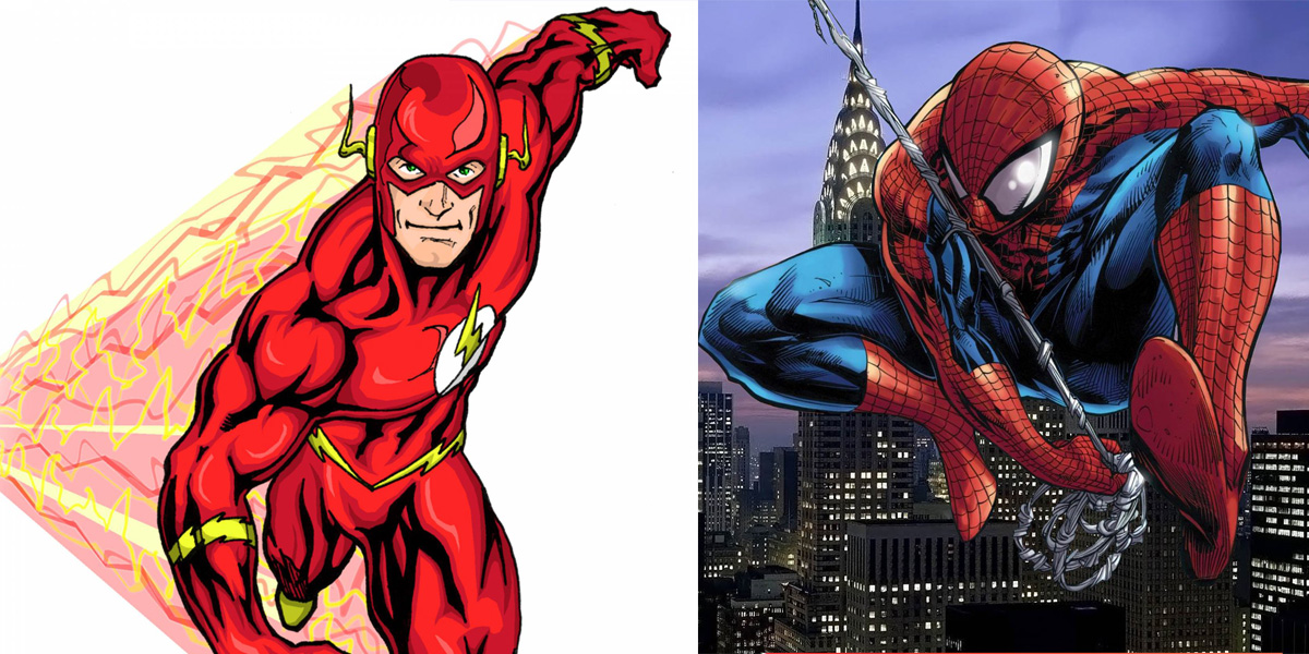 It's just a graphic of Transformative Flash Superhero Images