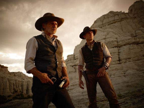 ford craig cowboys and aliens1 Cowboys & Aliens Edit Bay Visit With Jon Favreau