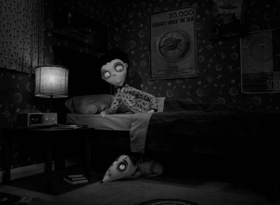 frankenweenie image1 570x418 Brave and Frankenweenie Images: Princesses & Re Animated Dogs