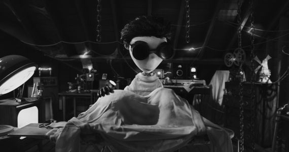 frankenweenie teaser trailer Tim Burton Talks Frankenweenie, Protective Parents, & Killing Cartoon Animals