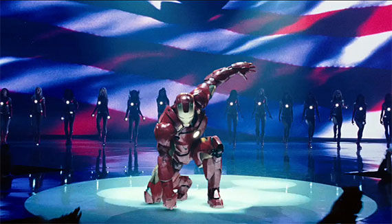 full iron man 2 clip First Complete Scene From Iron Man 2!