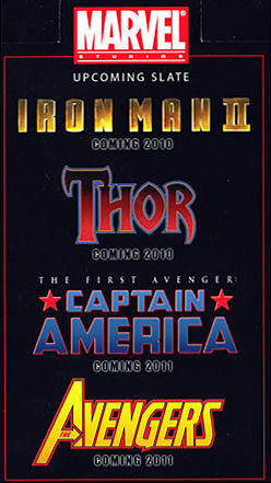 First look at Marvel supehero movie titles