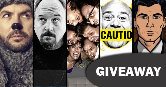 fx comedy contest SR Giveaway   Win A Best of FX Comedies Prize Pack