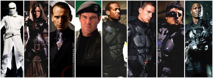 g i joe cast G.I. Joe: The (Un) American Hero?