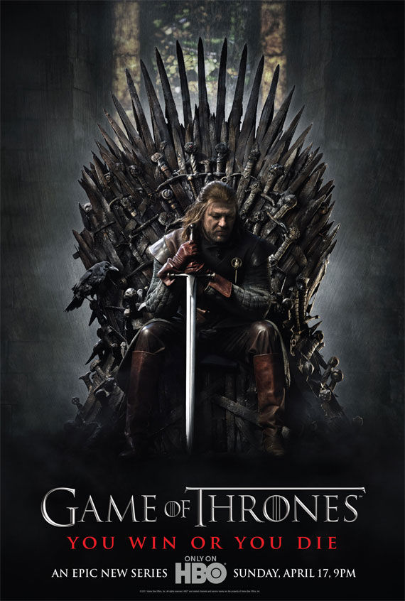 game of thrones poster Movie Poster Roundup: Fast Five, Thor, X Men: First Class & More