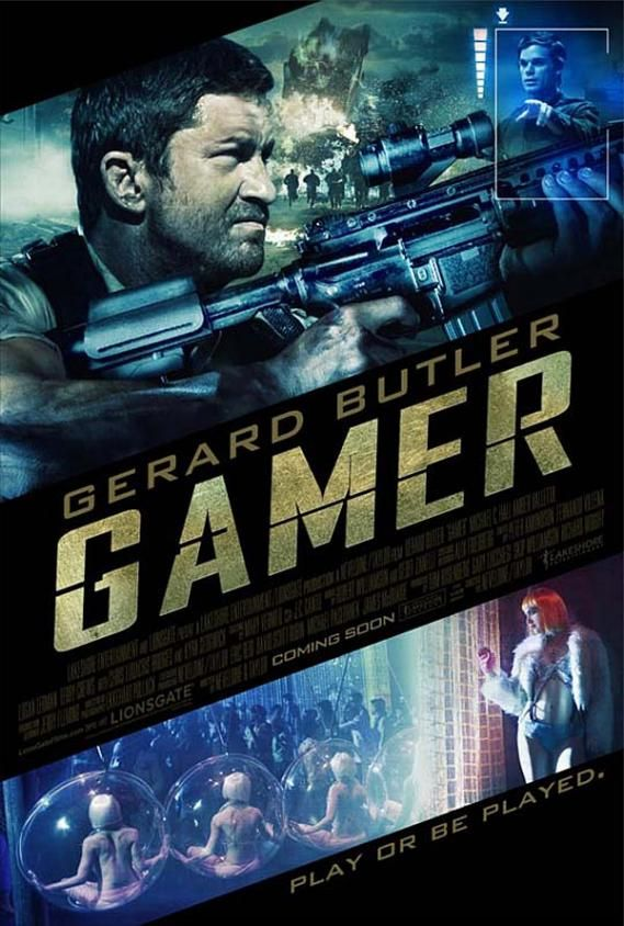 gamer poster new1 New Posters: Saw VI, Extract, Gamer & Lots More