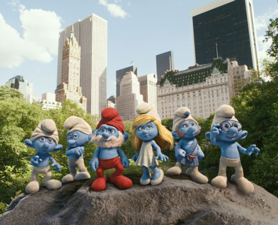 gang of smurfs movie image Screen Rants (Massive) 2011 Movie Preview