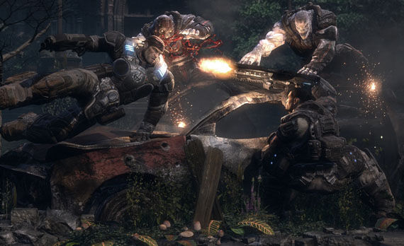 gears of war action Whats Happening With The Gears Of War Movie?