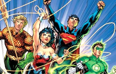 geoff johns jim lee justice league reboot Green Lantern Co Writer Working on Wonder Woman Movie