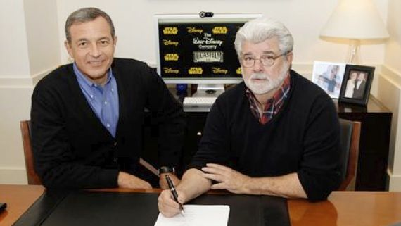 george lucas lucasfilm disney Disney acquires Lucasfilm and the Star Wars franchise from George Lucas