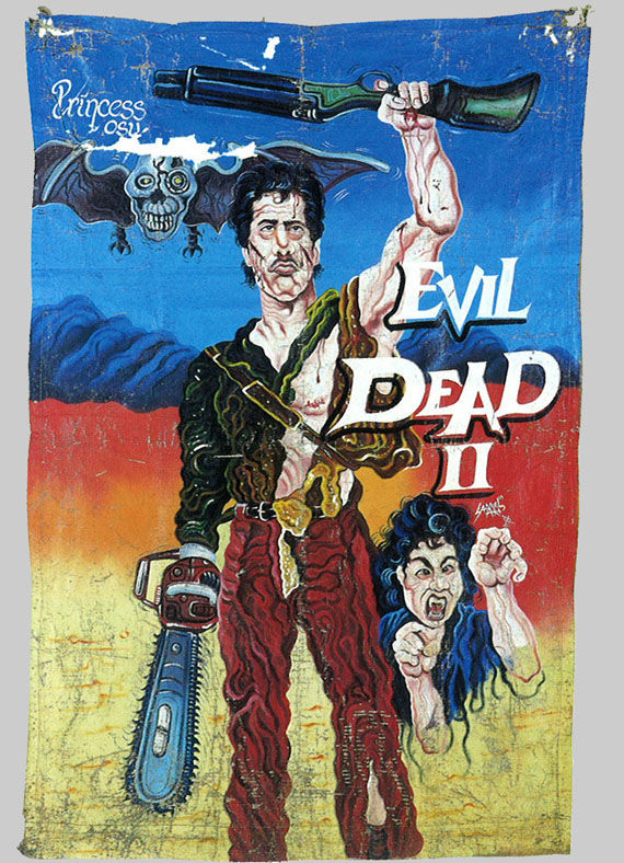 ghana poster evil dead 2 Poster Friday: New Moon, Caprica, The Crazies & More!