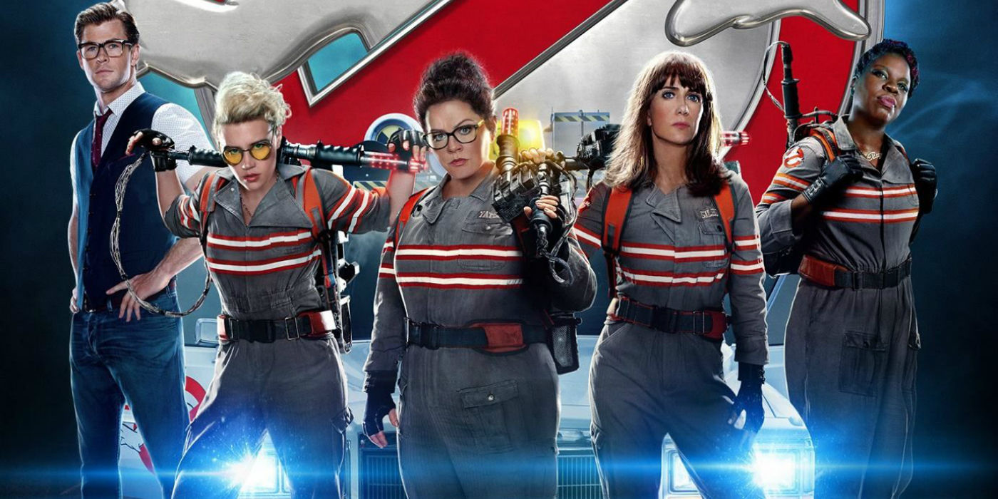 Ghostbusters reboot cast and poster