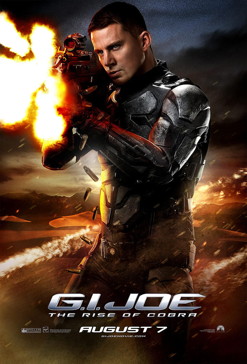 gi joe duke1 New G.I. Joe Character Posters, Extended TV Spot