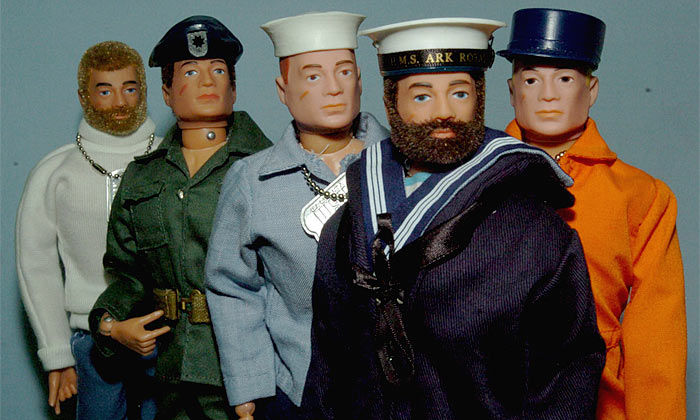 gi joe original action man figures G.I. Joe: The (Un) American Hero?
