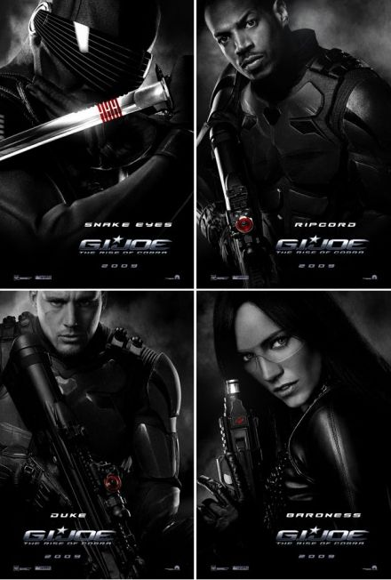 gi joe poster1 New G.I. Joe Movie Character Posters
