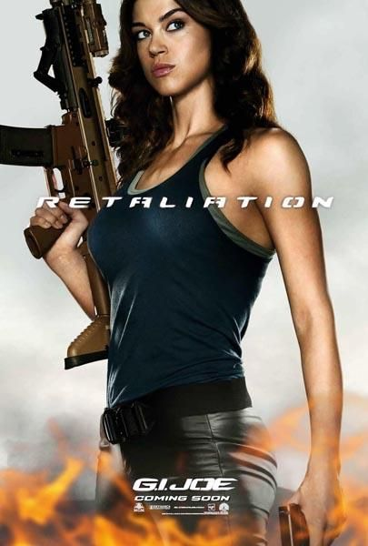 gi joe retaliation lady jaye poster Lady Jaye Poster for G.I. Joe: Retaliation
