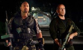 gi joe retaliation the rock bruce 280x170 Summer Movie Images & Posters: G.I. Joe 2, Expendables 2, MIB3, Spider Man & Snow White