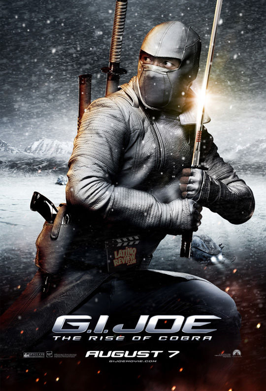 gijoestorm shadow excl New G.I. Joe Character Posters, Extended TV Spot