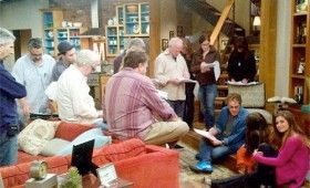 girlmeetsworld candidphotos3 280x170 Girl Meets World Set Photos: Cory, Topanga, Mr. Feeny, & More!
