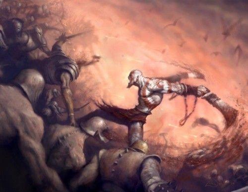 God of War action pic