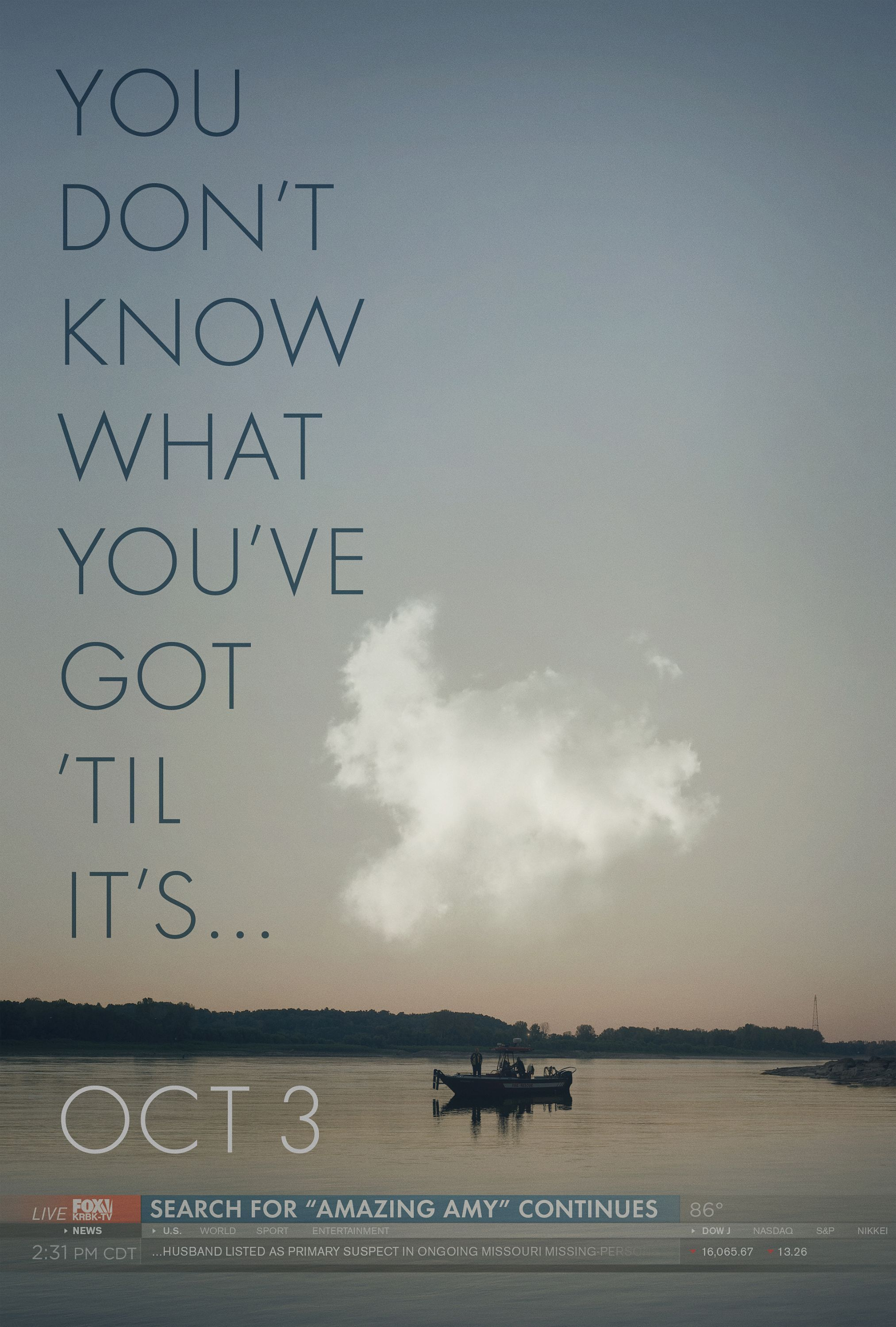 Gone Girl Trailer And Poster Ben Affleck S Wife Is Missing