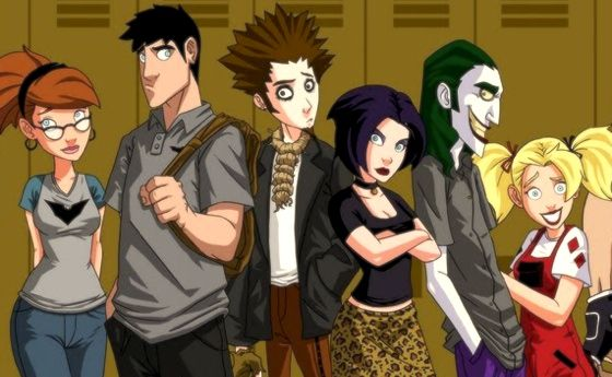 gotham high cartoon that almost was concept art Concept Art for Unmade Batman Gotham High Animated Series