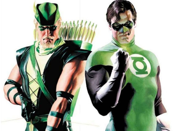 green arrow green lantern The Green Arrow is Still Going to Super Max