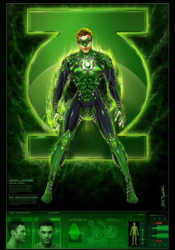green lantern brian austin green profile Brian Austin Green Campaigns To Be The Green Lantern