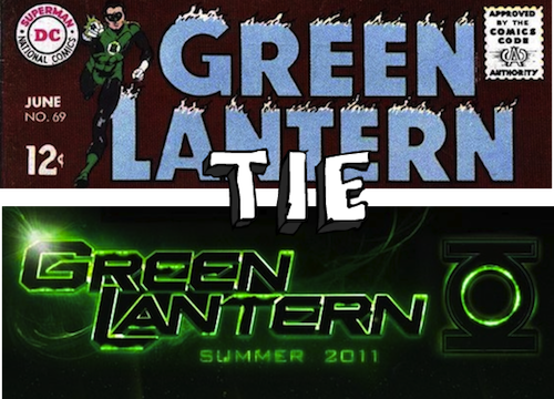 green lantern comic book movie tie Green Lantern: The Comic Books vs. The Movie