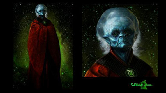 green lantern concept art guardians More Green Lantern Concept Art: Sinestro & Guardians