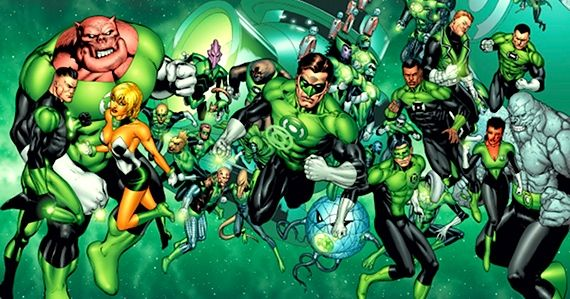green lantern corps in sequel Green Lantern 2 Moving Ahead Despite Box Office Drop