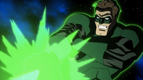 green lantern emerald knights nathan fillion interview 1 570x320 Green Lantern Emerald Knights Hal Jordan Ring Blast