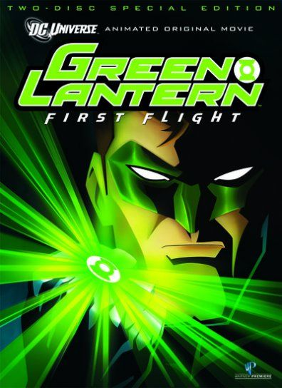 green lantern first flight dvd cover Green Lantern Tagged With $150 Million Budget