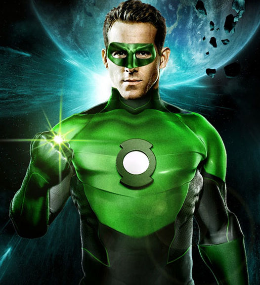green lantern poster ryan reynolds fan made1 Writers Tapped For The Flash & Green Lantern 2